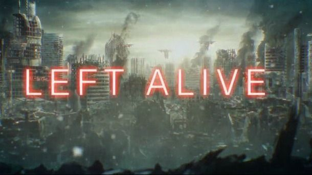 Square Enix Reveals Left Alive, Features Metal Gear Character Designer...