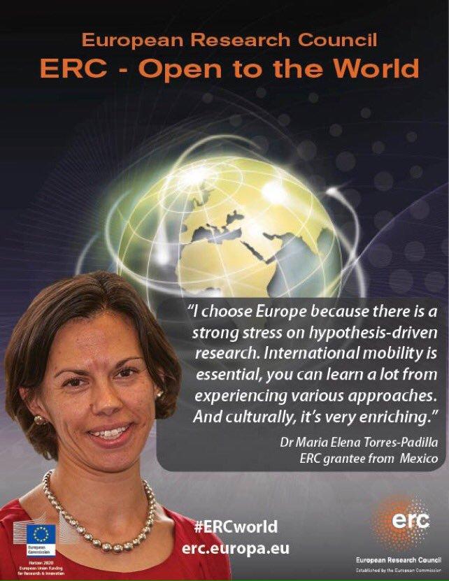 M E Torres-Padilla has travelled 4 countries while working on epigenetics &amp; fertility #EUresearchcareers#ERCworld  https:// erc.europa.eu/projects-figur es/stories/international-career-push-frontiers-epigenetics &nbsp; … <br>http://pic.twitter.com/R8e6XqTPt0