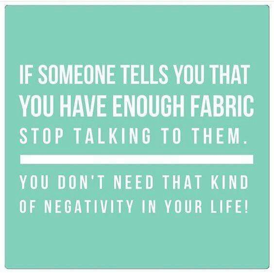 Our Favourite Quote of the week #sewing #fabric #sewists<br>http://pic.twitter.com/64Rk61g0lS