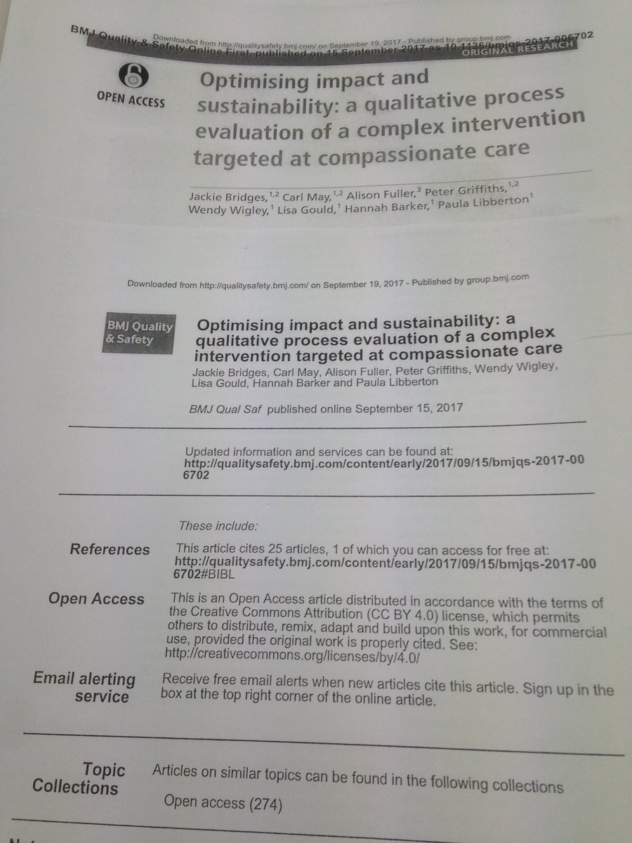 Congratulations @UniWestLondon @UWL_CNMH @wigley_p on your #publication in #BMJQual&amp;Safety  #Fabulous! #Welldone!<br>http://pic.twitter.com/7agJlTZtzc