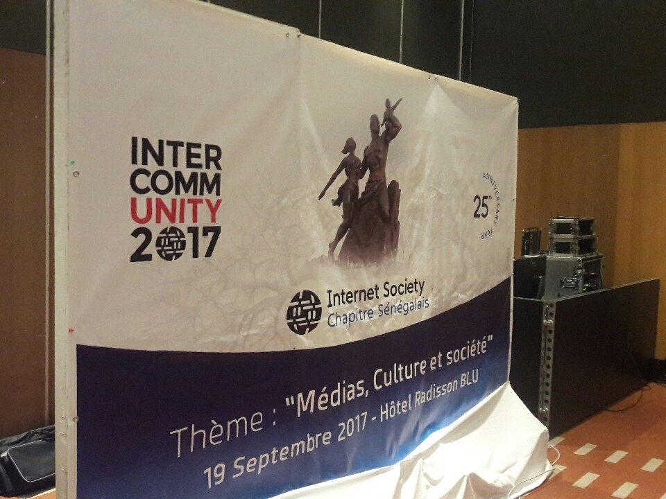 #ICOMM17 #ShapeTomorrow  #Dakar se prépare aussi pour fêter internet @...