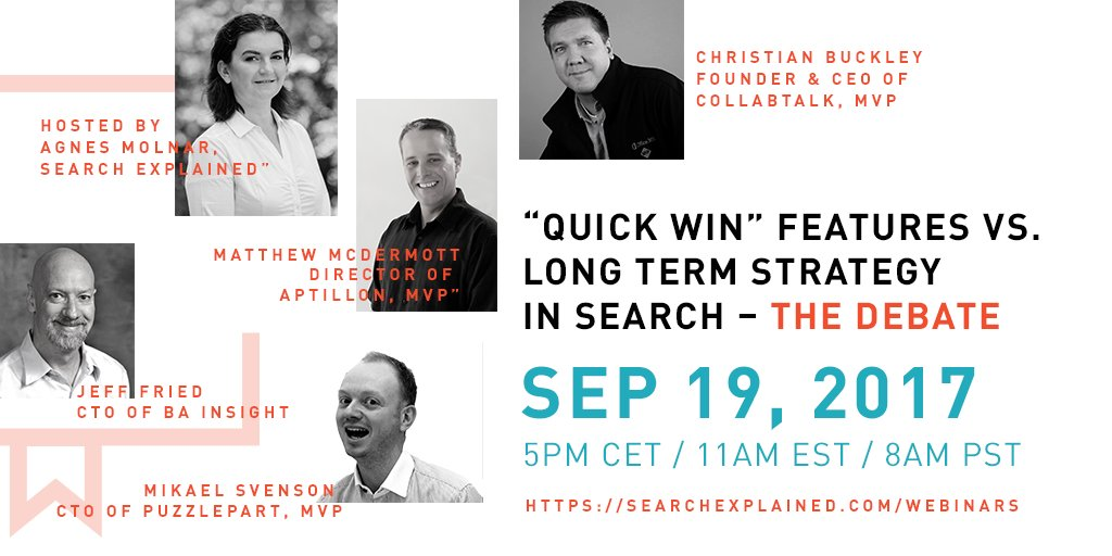 TODAY @ 17:00 CET/11am ET: 5 #Search experts in a live debate on #Zoom (also broadcasting to Youtube and Facebook)  https:// goo.gl/9dTR4K  &nbsp;  <br>http://pic.twitter.com/7Fv4Njl0I7