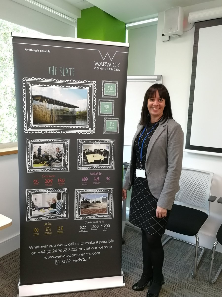 Great to see #CapitaCollection partner @WarwickConf_JM and @WarwickConf in Swindon today talking everything #slate <br>http://pic.twitter.com/cdq5U9Ymsa