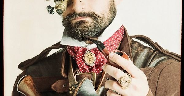 Just Pinned to Steampunk Type Thingiedoodles: Looking suave, sir. #renratsguide #Steampunk https://t.co/aiWnvKf9Fg