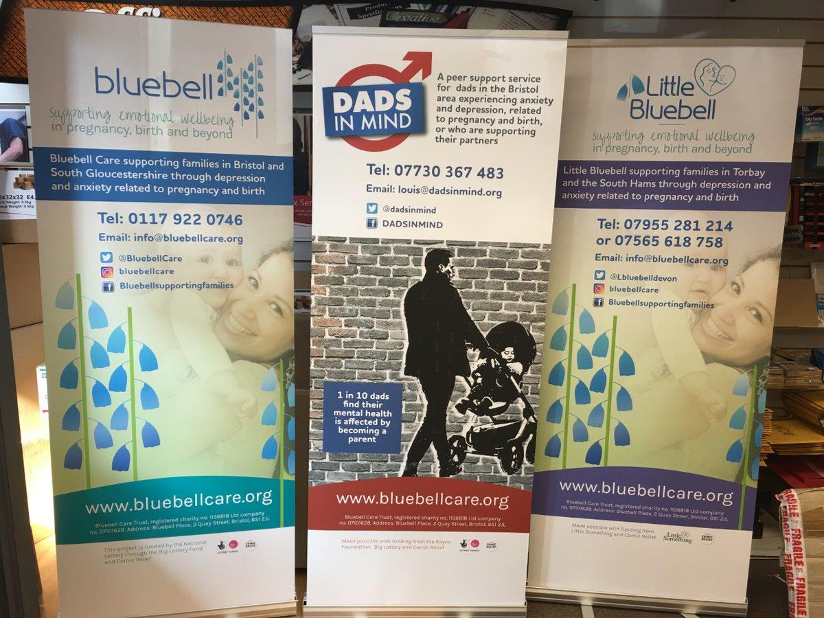 #Printing Pop up #banners for @BluebellCare  @DADSINMIND @Lbluebelldevon  . A fine Trio of worthy causes @iBristolPeople !<br>http://pic.twitter.com/neg8a191G6