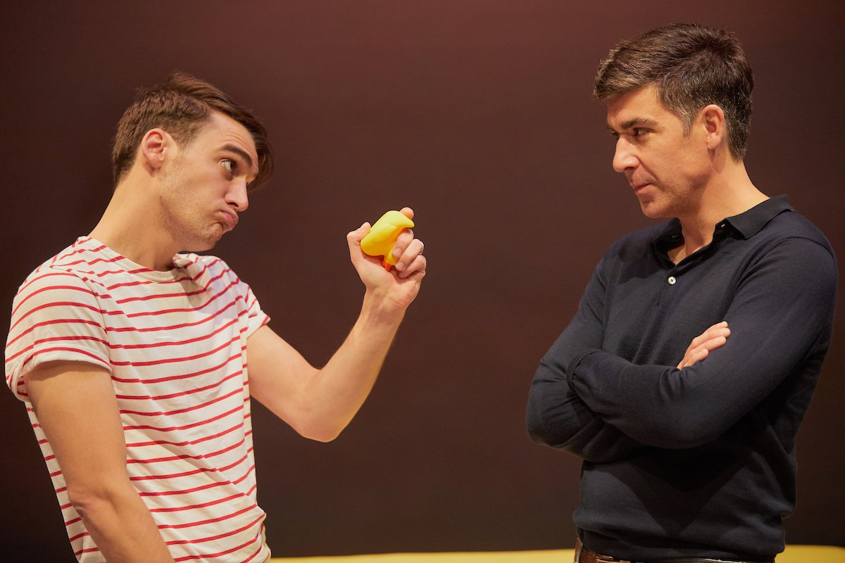 'Give me the duck, darling' Chris Thompson's hard-edged comedy Of Kith and Kin opens tonight!