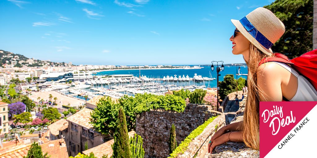 Take in #Cannes with 5K bonus points + dress your best to cruise the Promenade de la Croisette:  http:// bit.ly/2vCurla  &nbsp;   #DailyDeal<br>http://pic.twitter.com/MdCL2Xo7Do