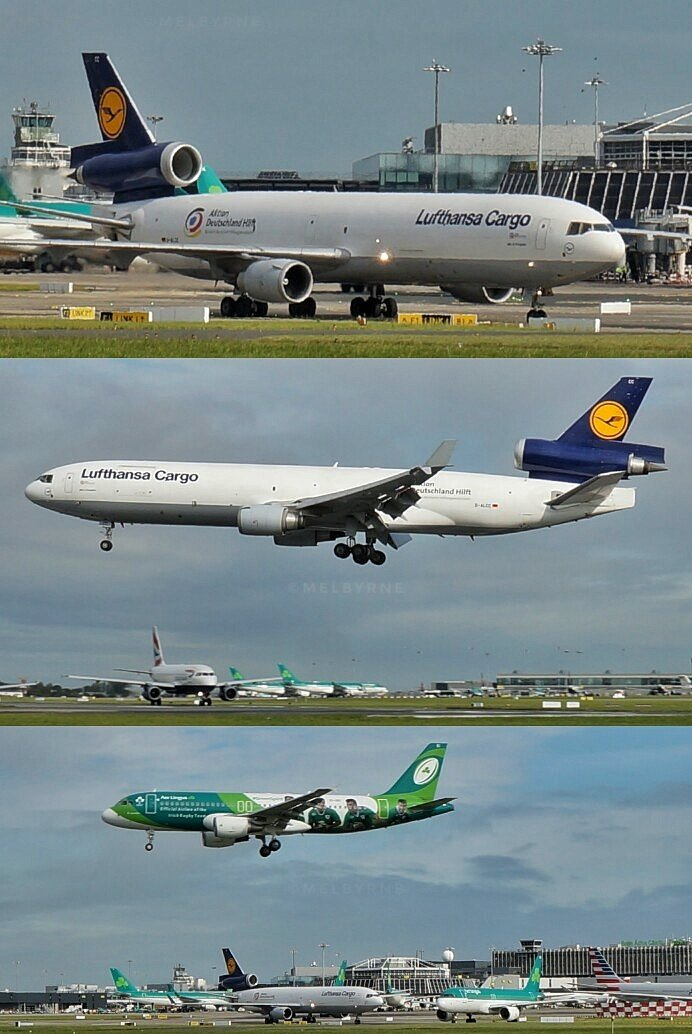 Not often we see one of these @lufthansa  #MD11 at @DublinAirport  #avgeek #plane #spotter #fly #aircraft #aviation #Dublin #lifestyle #MD11<br>http://pic.twitter.com/kS4VjBKNxx