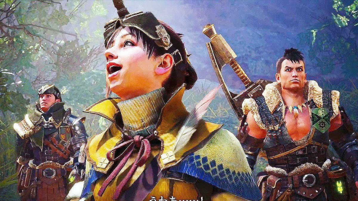 Monster Hunter world, coming to Xbox One January 26th.  (psst, it's al...