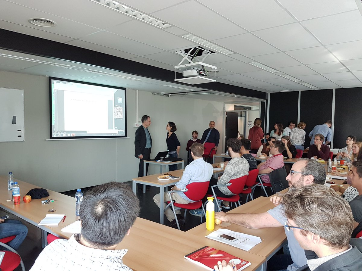 Full room at joint Rdam #healtheconomics &amp; Resarch on Monday with Guido Imbens @ResearchTI<br>http://pic.twitter.com/MlepC8I4sD
