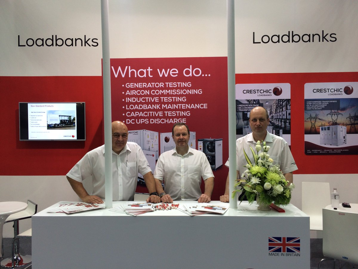 #powergenasia If you&#39;re at #Power #Gen #Asia, come by and say hello - We&#39;re on stand O28 for all of your #loadbank and #loadtest needs<br>http://pic.twitter.com/2j0JmIdiuV