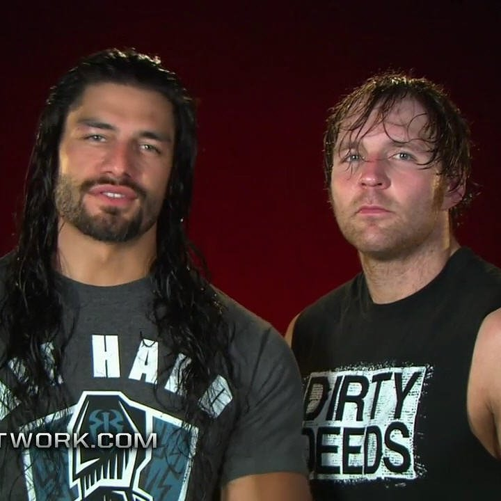 Wwe roman reigns and dean ambrose
