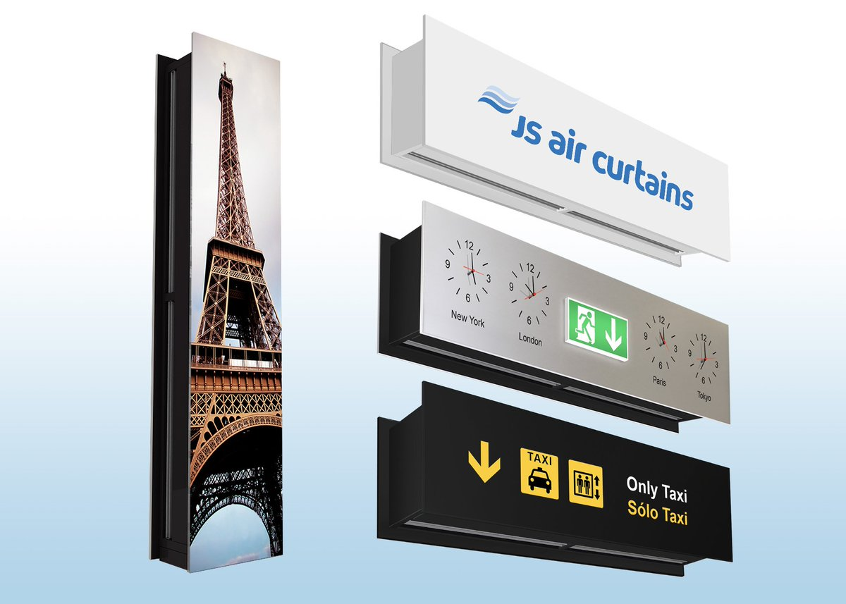 #Architects and #consultants enjoy a #freehand with #aircurtain #design thanks to the #Zen https://www.jsaircurtains.com/news/air-curtains-by-design … ...
