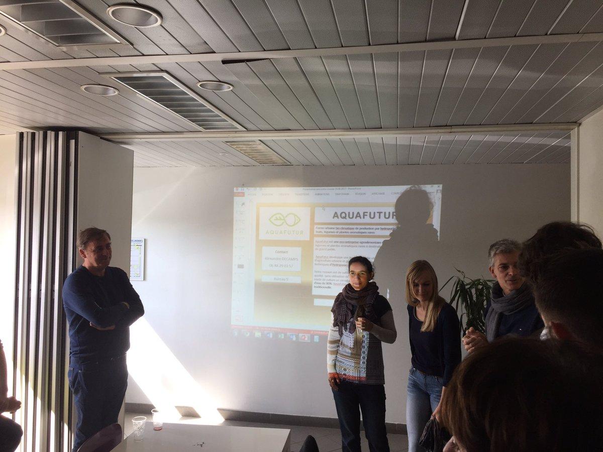 C'est la rentrée : rencontres croisées des nouvelles #startup de l'Ecoparc de Blanquefort ! #écoactivités #énergies #agrotech
