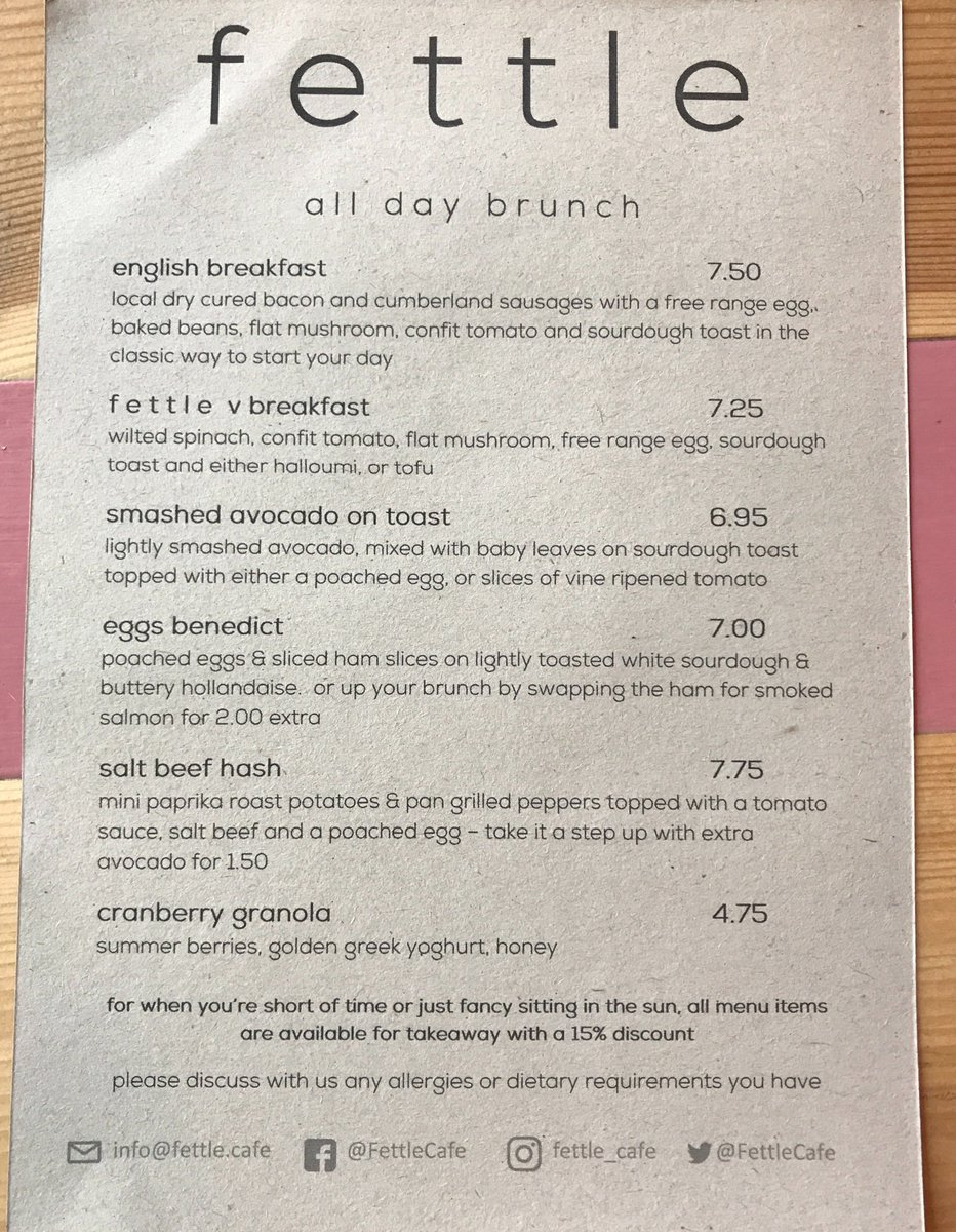 "f e t t l e on twitter: ""fancy seeing what's on the #menu before you"