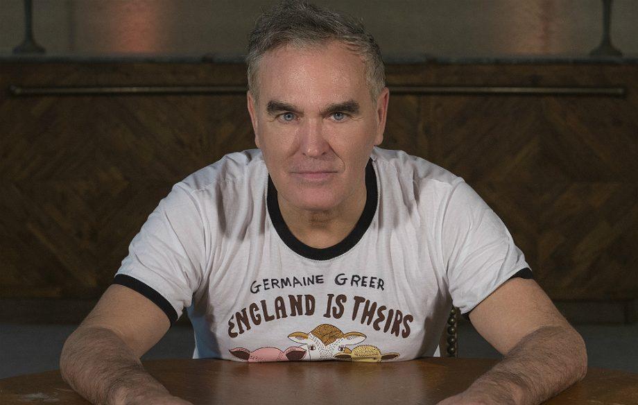 Not heard Morrissey's big comeback single yet? Listen to 'Spent The Da...