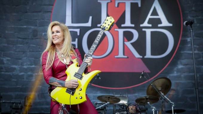 Kiss Me Deadly  Happy Birthday Today 9/19 to Lita Ford.  Rock ON!