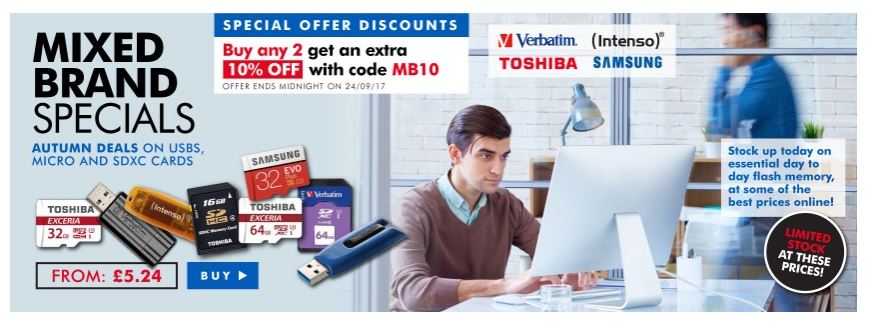 Save on Flash memory from various brands  http:// ow.ly/LpVv30feeT0  &nbsp;    #RT #Follow #Win share #MultiBuy any 2 Extra 10% off @TRDeals<br>http://pic.twitter.com/TkoIk1fldx