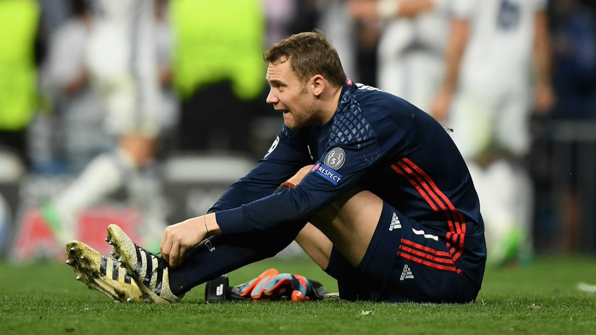 Officiel : Manuel Neuer ne rejouera plus en 2017  ! https://t.co/uH4Uu...