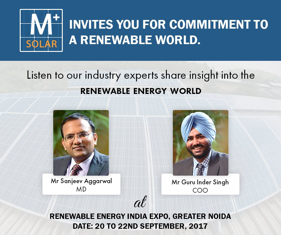 #AmplusSolar #invites you for #commitment to #global #renewable #world! #Join us as our #INDUSTRY #experts share insights.  #sustainability<br>http://pic.twitter.com/gKPVepTBwR