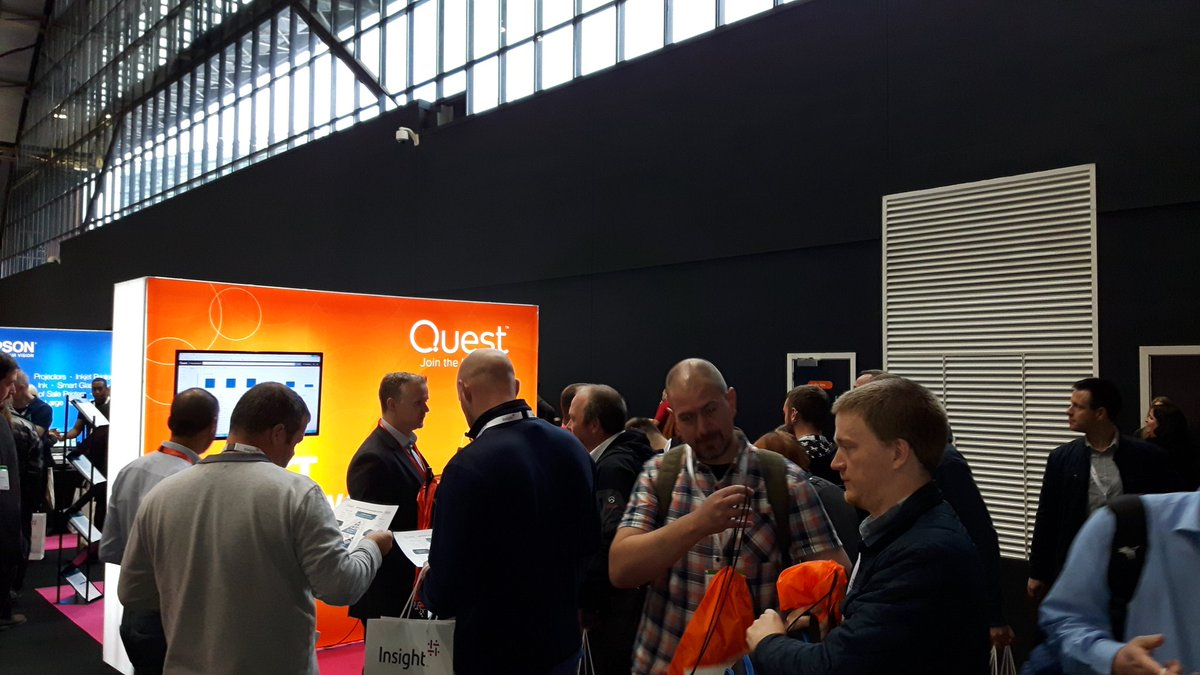 Our team are busy here at the #InsightUKEvents show. Come visit us at stand G38 @Quest_EMEA #Quest #Insight <br>http://pic.twitter.com/dQpOD6FYXx