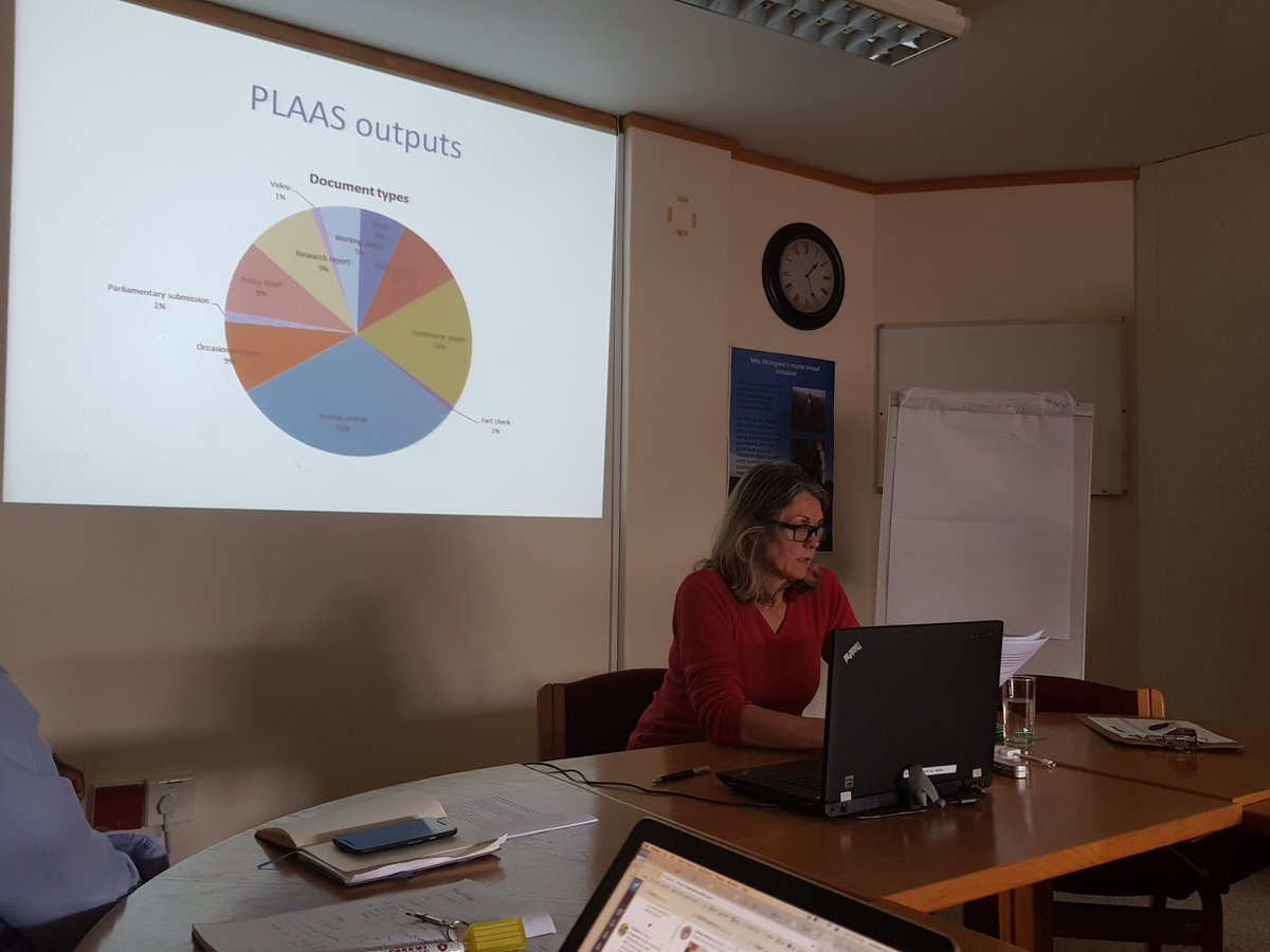 Using @altmetrics to measure @PLAASuwc #ResearchImpact excluded a significant portion of &#39;grey literature&#39; #20YearsofPLAAS<br>http://pic.twitter.com/8wEJtKucpD