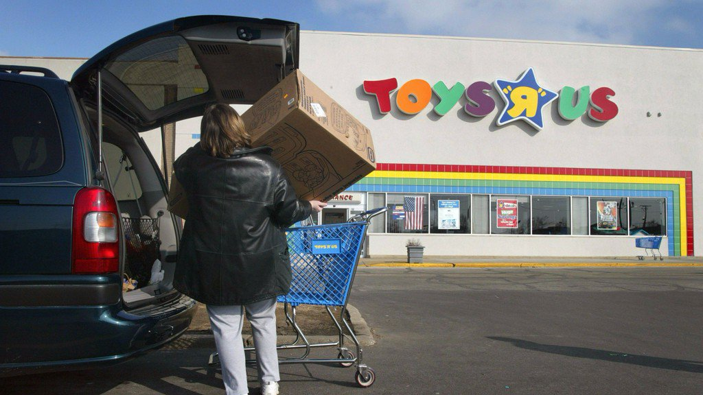 Toys R Us files for bankruptcy https://t.co/ds8Kzczzns
