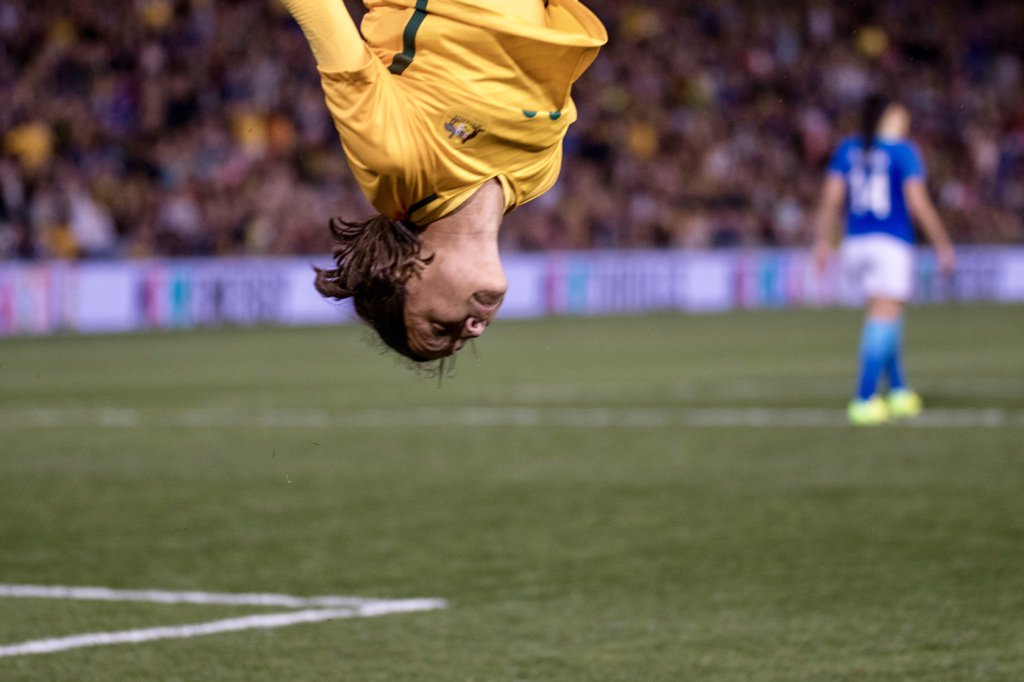 We come from a land down under…  3-2, and a hat-trick of wins over Brazil. #goMatildas #AUSvBRA https://t.co/ULfMpAMpMb