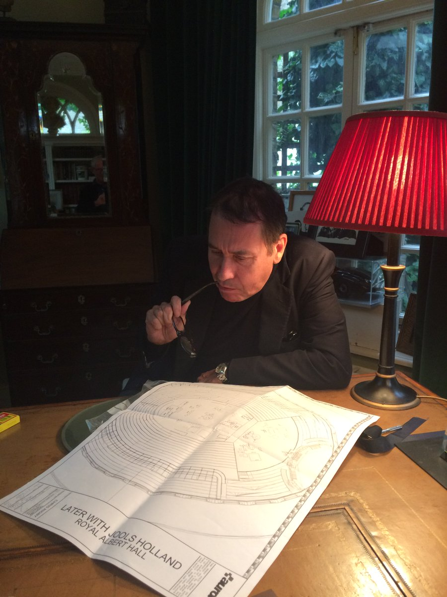 Jools planning for our @RoyalAlbertHall 25th birthday show! 🎂🎵  Watch...