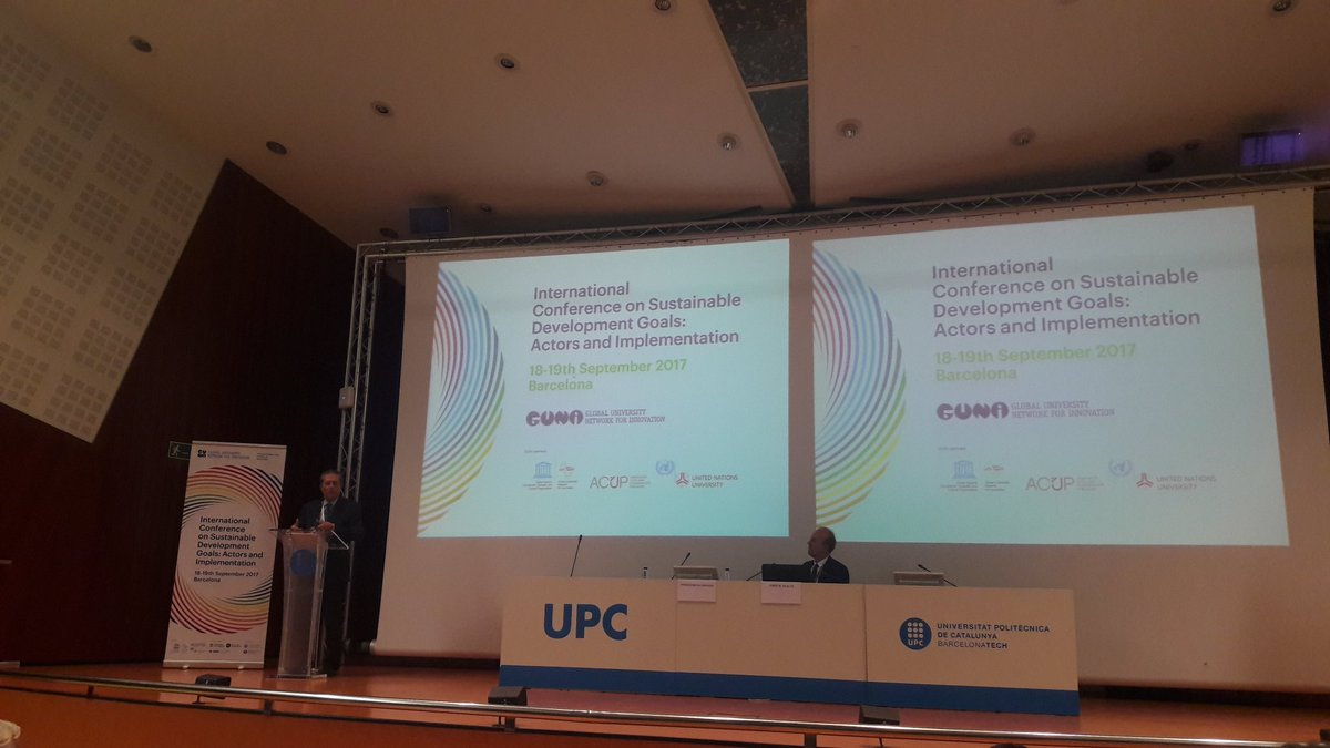 FMZaragoza calls for action &amp; actors to overcome #neoliberalism, #educate to be #free &amp; #responsible &amp; design a different future #GUNiSDGs<br>http://pic.twitter.com/Xyl9y2NXW9