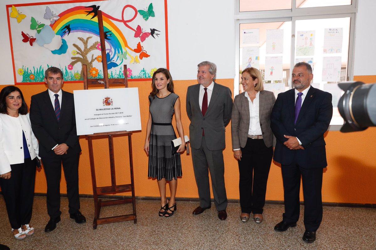 Королева Летисия открыла новый учебный год в Тенерифе