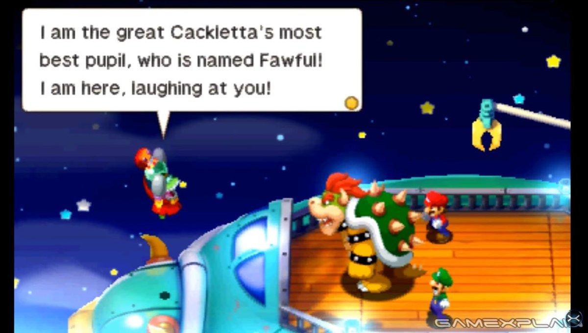 Gonintendotweet On Twitter Mario Luigi Superstar Saga Dx