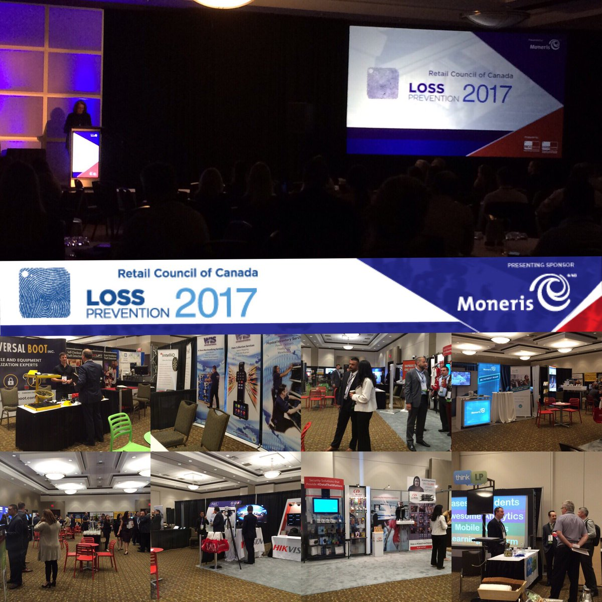 #RCCLP17 has just begun! Meet your #industry exhibitors, loss prevention, #security &amp; #privacy #ThoughtLeaders<br>http://pic.twitter.com/l8ZbaAyEmJ