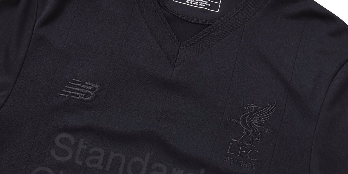 8bbeaf517 Up close and personal with the Limited Edition  NBFootball  LFC Pitch Black  jersey.  LFC  PitchBlackCollection pic.twitter.com N9UIWYQW15