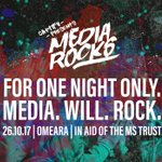 BIG ANNOUNCEMENT (queue drum roll)! @Captify launches the first ever #MediaRocks w/@MSTrust. Tickets on sale now! https://t.co/K8dre8SzZF