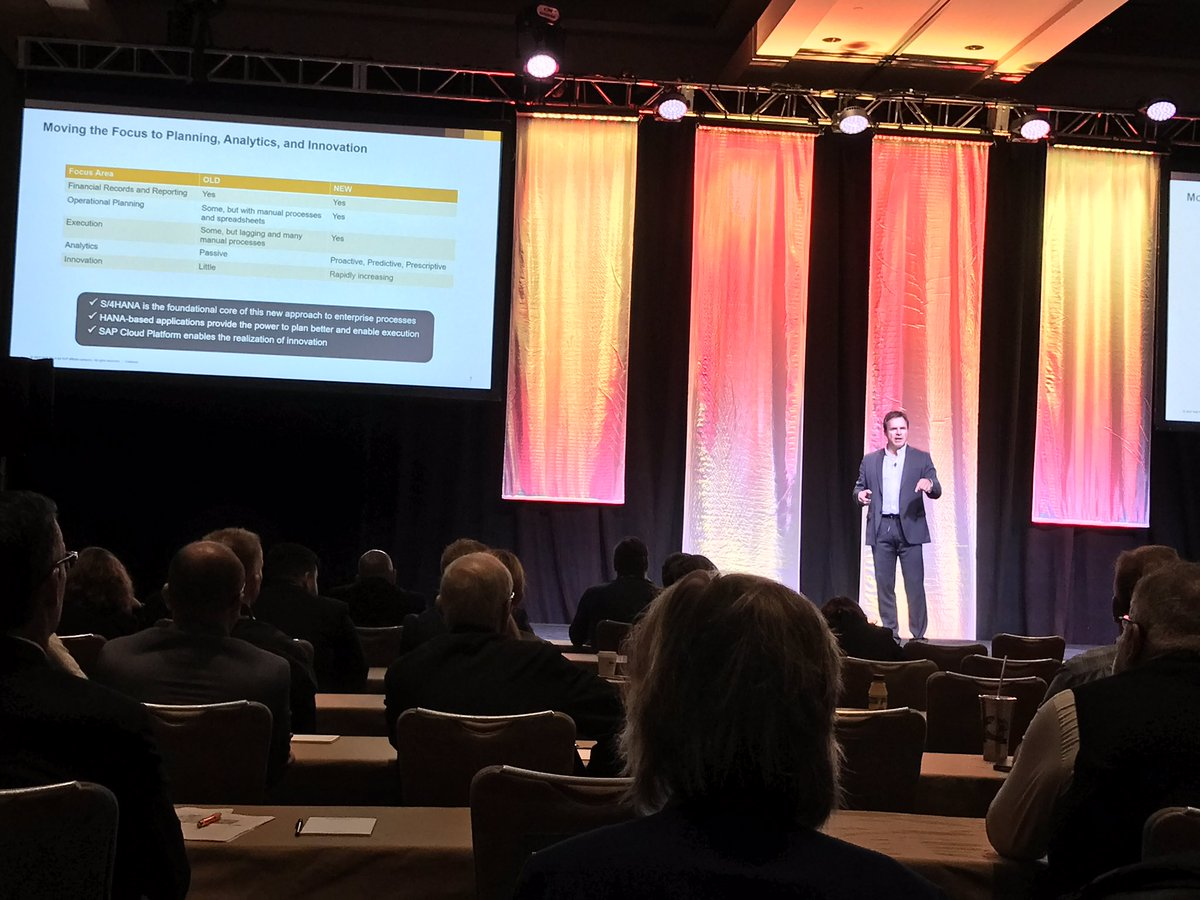 Chet Harter sharing how you can drive new business processes with #SAP technology at the Best Practice Event #BP4AUTO #automotive<br>http://pic.twitter.com/8wjry9Rq8E