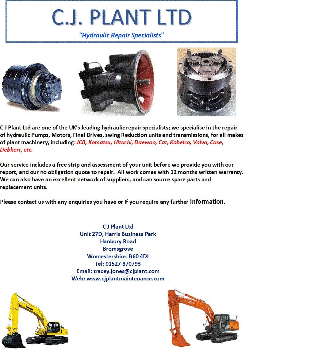 C J  Plant Limited (@cjplantltd)   Twitter
