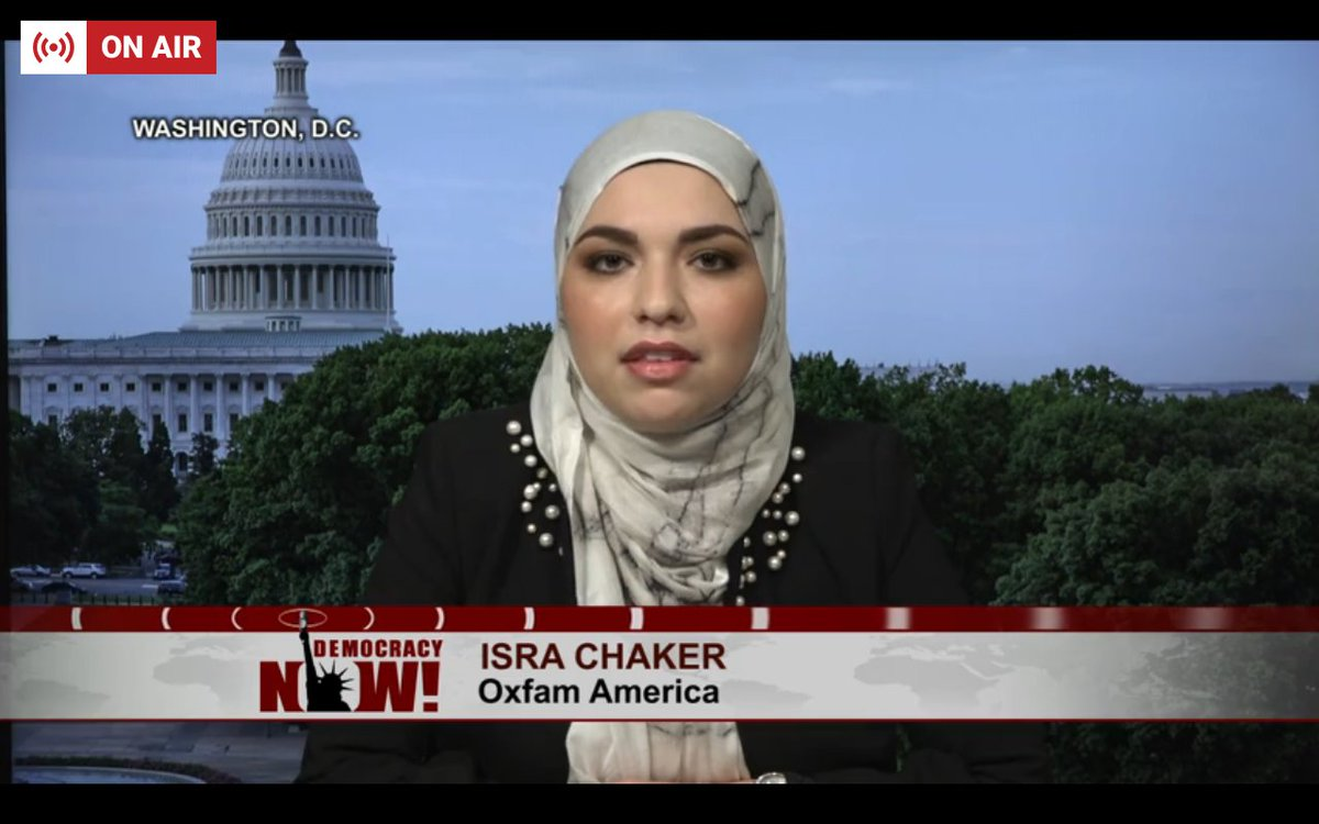 Happening now at https://t.co/Xup8cdtnFB: @IsraSpeaks and Eiman Ali on renting out Trump's childhood home to advocate for refugees