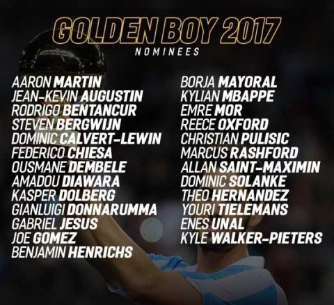 #Rashford, #Mbappe and #Dembele in contention for 2017 #GoldenBoy award Please check more details from:  https:// goo.gl/pPZ6T7  &nbsp;  <br>http://pic.twitter.com/2pdT9tx8tu