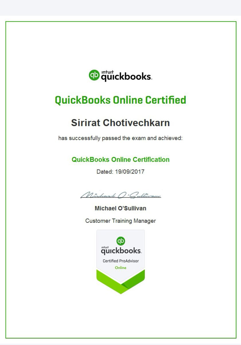 Nat On Twitter Nat Is Intuit Certified Quickbooks Online