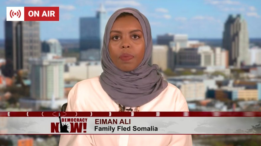 @IsraSpeaks @OxfamAmerica Eiman Ali, whose family fled Somalia:  'It's a common myth that we have limited resources in this country… It's really about compassion ' https://t.co/Z1ZbJIUGeB