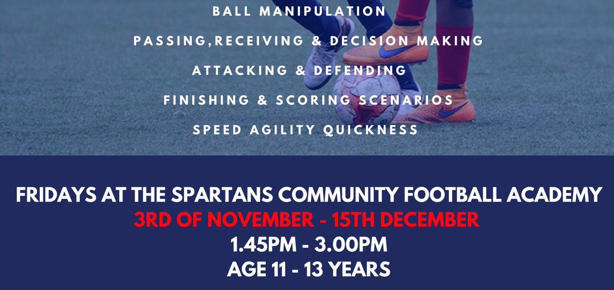 NEW PROGRAMME - Player Development Programme starting soon. Football for kids aged 11-13. More info   https:// scfa.class4kids.co.uk/info/123  &nbsp;   #Tekkers #PDP <br>http://pic.twitter.com/uJDjlDrmmg