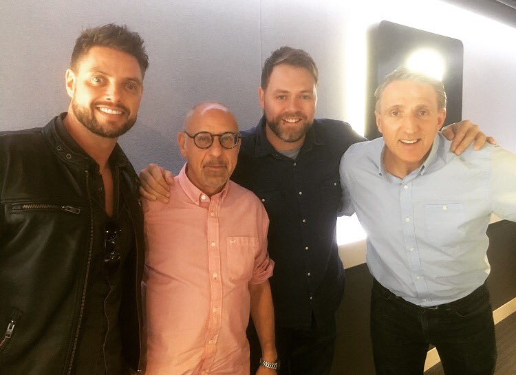 RT @tSHandJ: Great to have @BrianMcFadden and @officialkeith with us in the studio! https://t.co/sSDLK5z8nZ