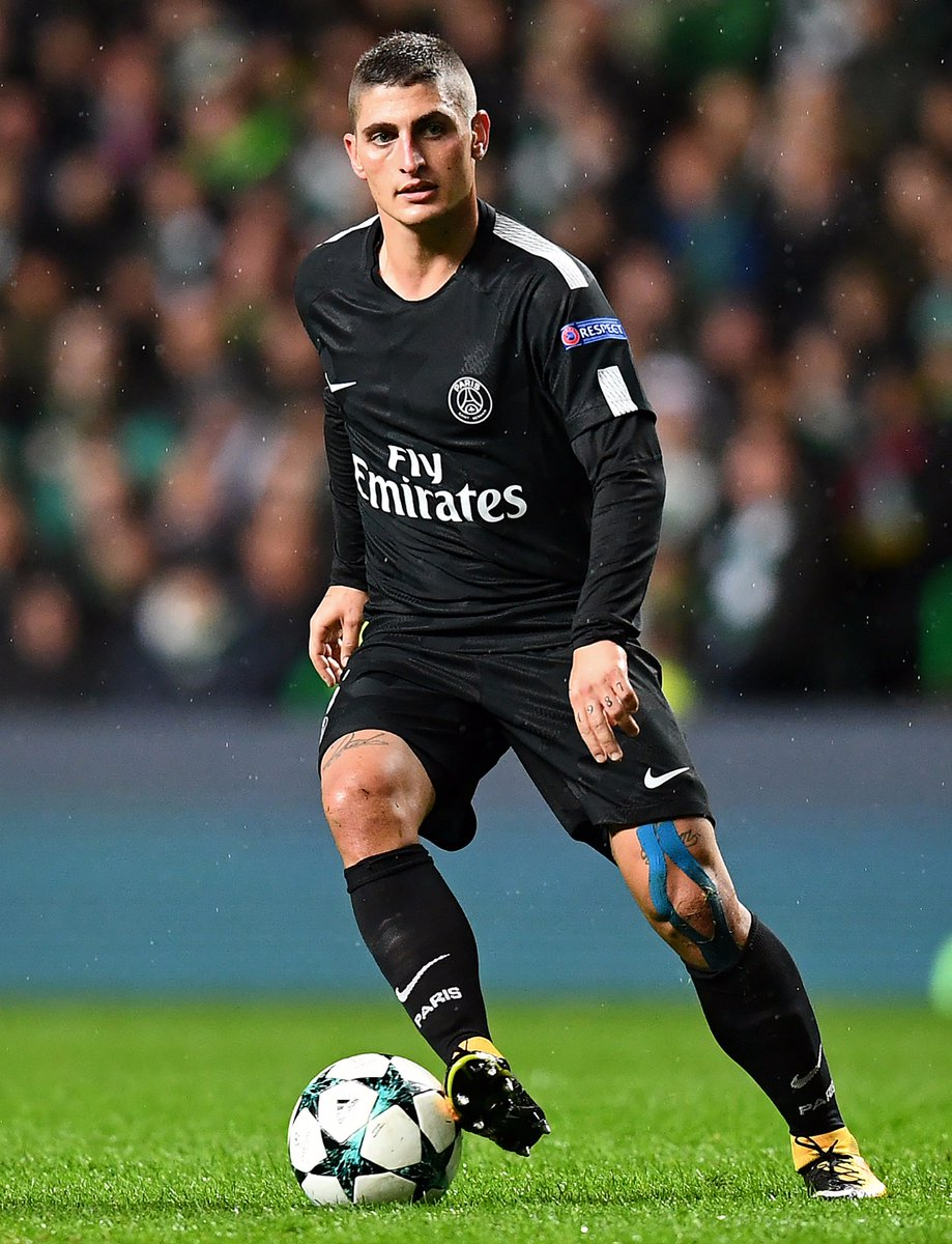 Completed passes in the #UCL    Marco Verratti - 149 (98%)   Thiago Motta - 143 (97%)   John Stones - 132 (98%) <br>http://pic.twitter.com/tjfRZ7IH55