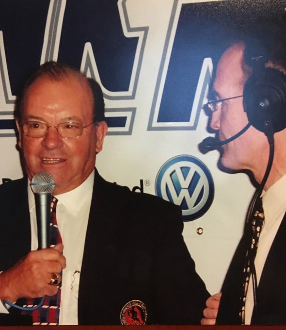 Happy 84th birthday to legendary coach Scotty Bowman. My pre game guest from years ago.