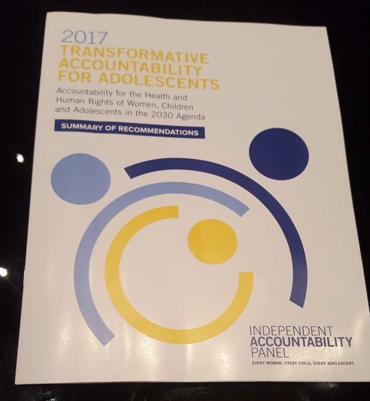 @ewec 2017 report on transformative accountability for #adolescents <br>http://pic.twitter.com/4Ndq0IIPx1