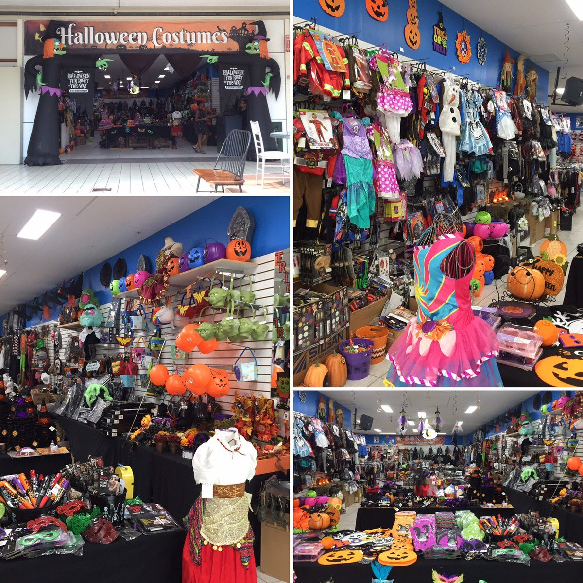 """woodbine centre on twitter: """"halloween store is now open! everything"""