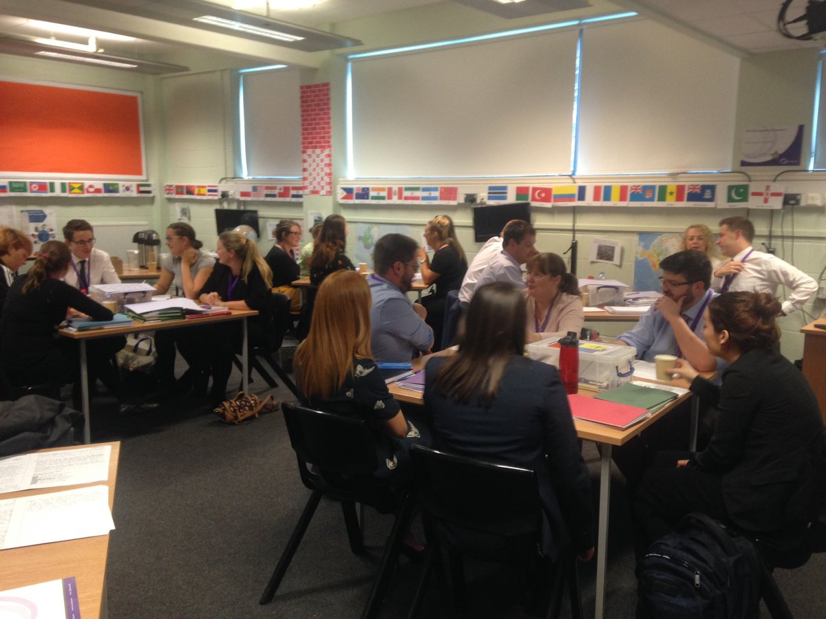 The power of collaboration, Hums staff at OGAT sharing good practice in marking &amp; feedback. Great to see such excellent colleagues #sharing <br>http://pic.twitter.com/bVF0yTNkEp