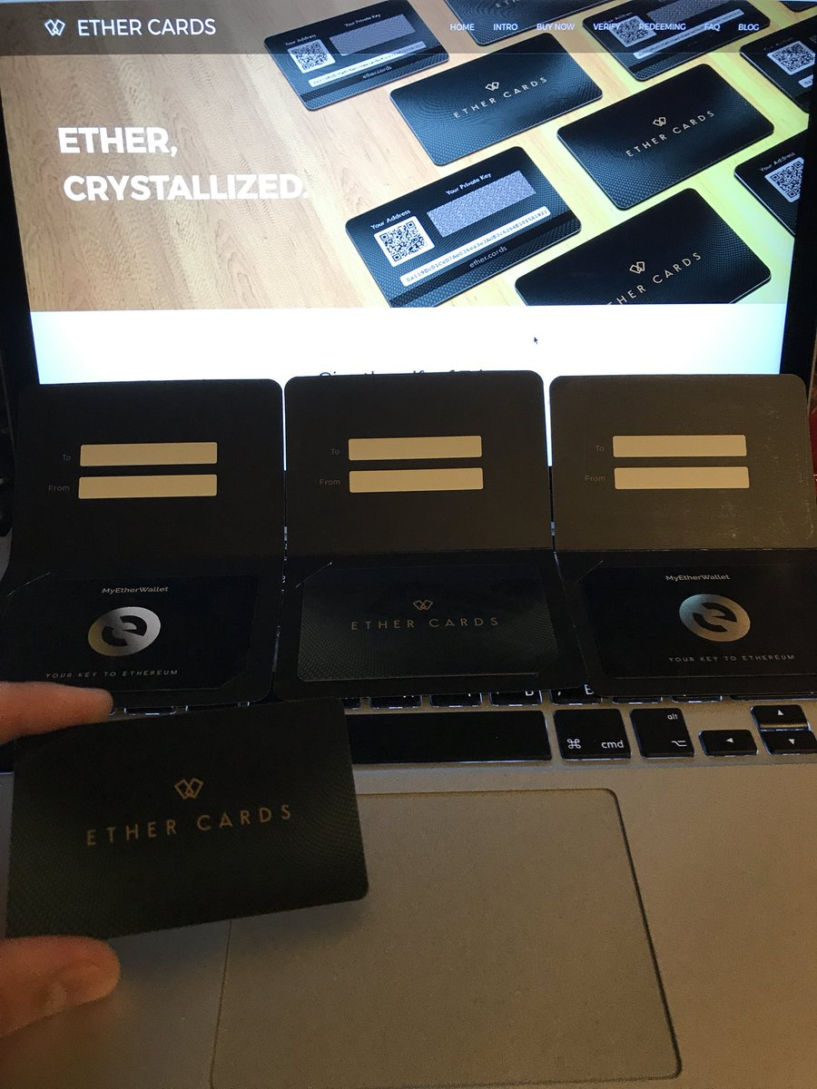 Ooh  It's....it's...just unbelievable.  Great thank to @ether_cards and @myetherwallet for this opportunity!  #ethereum #crypto #cards <br>http://pic.twitter.com/auTwjHUJA3