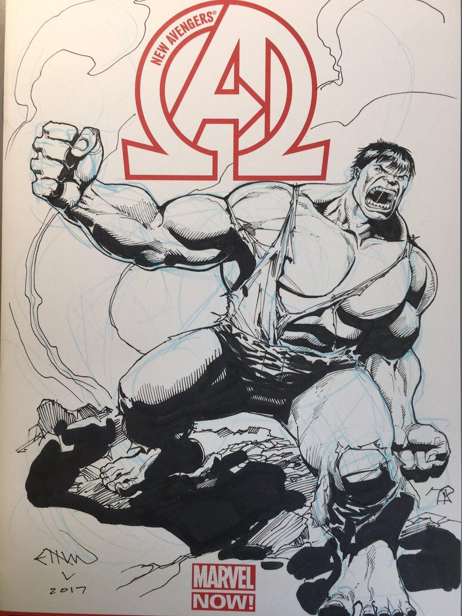 #Hulk Sketch cover! <br>http://pic.twitter.com/zvUS61nh6W
